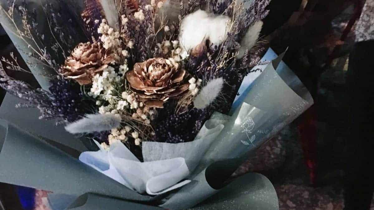 天蠍座乾燥花束 HUE詼-乾燥花藝設計