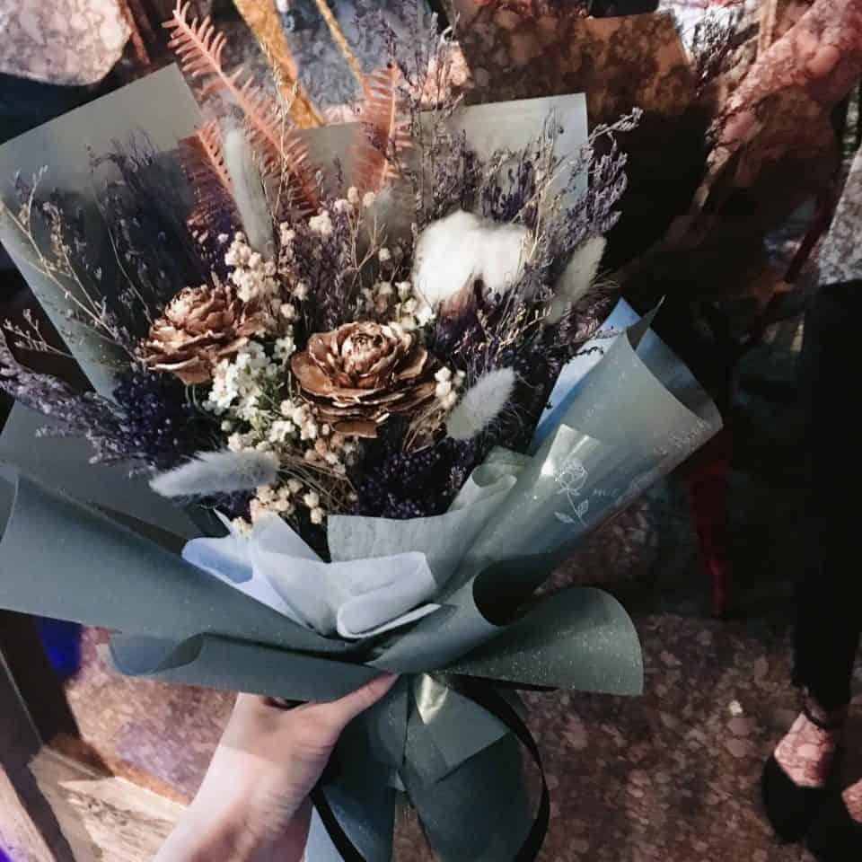 天蠍座乾燥花束|HUE詼-乾燥花藝設計