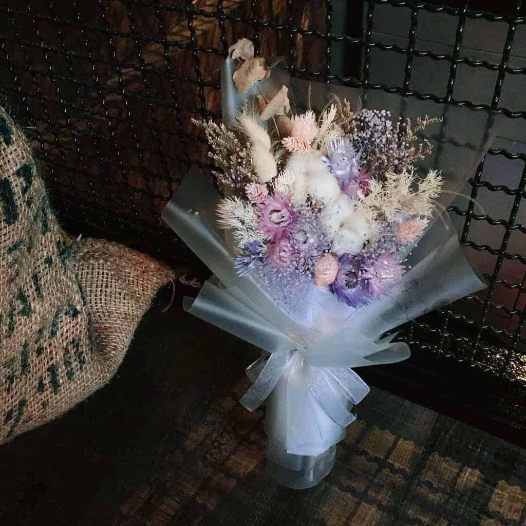 HUE詼 - 十二星座花語 天秤座乾燥花束|乾燥花藝設計、乾燥花、永生花