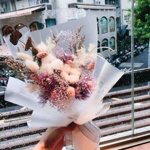 天秤座乾燥花束|HUE詼-乾燥花藝設計