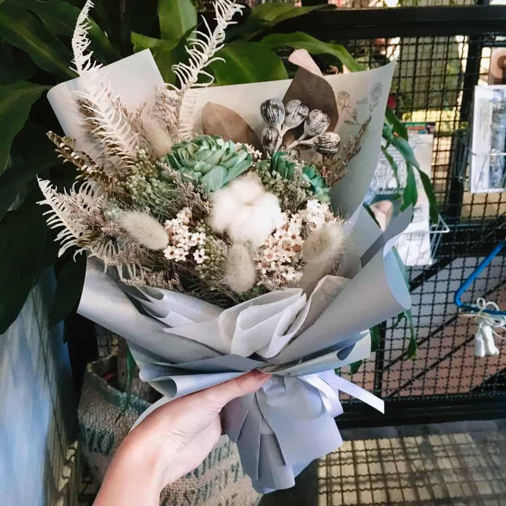 HUE詼 -  十二星座花語 處女座乾燥花束|乾燥花藝設計、乾燥花、永生花