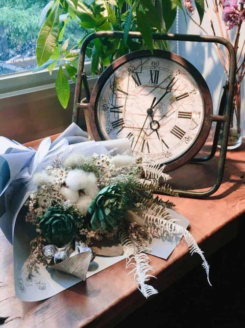 處女座乾燥花束|HUE詼-乾燥花藝設計