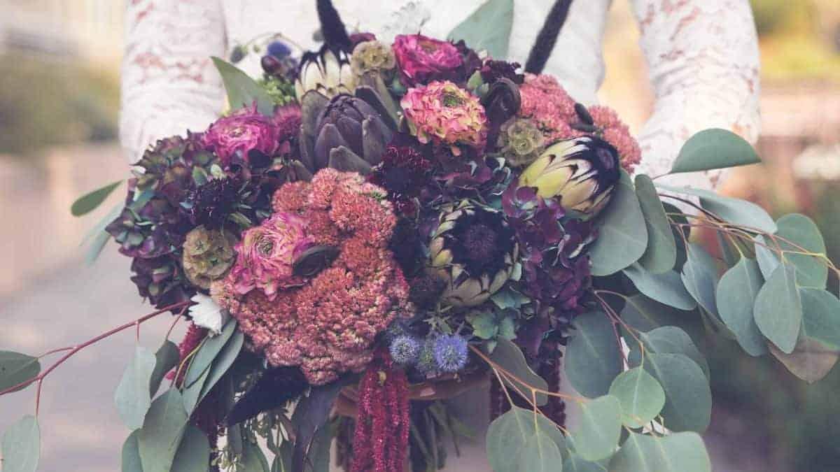 新娘捧花|HUE詼-乾燥花藝設計