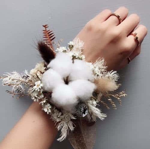手腕花|HUE詼 - 乾燥花藝設計