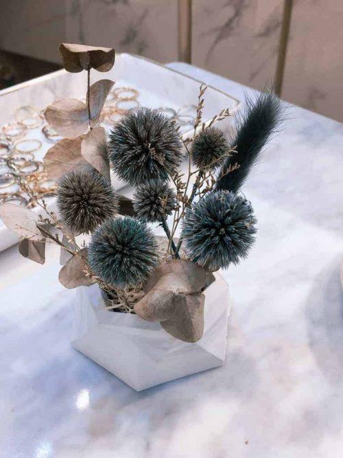 小桌花|HUE詼 - 乾燥花藝設計