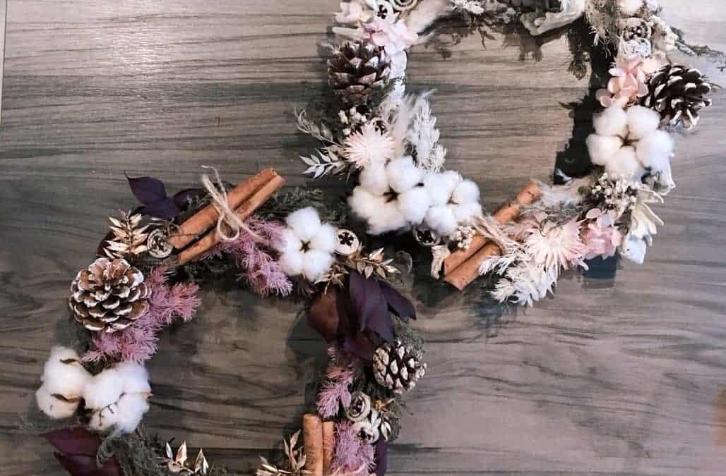 聖誕節系列商品 HUE詼-乾燥花藝設計