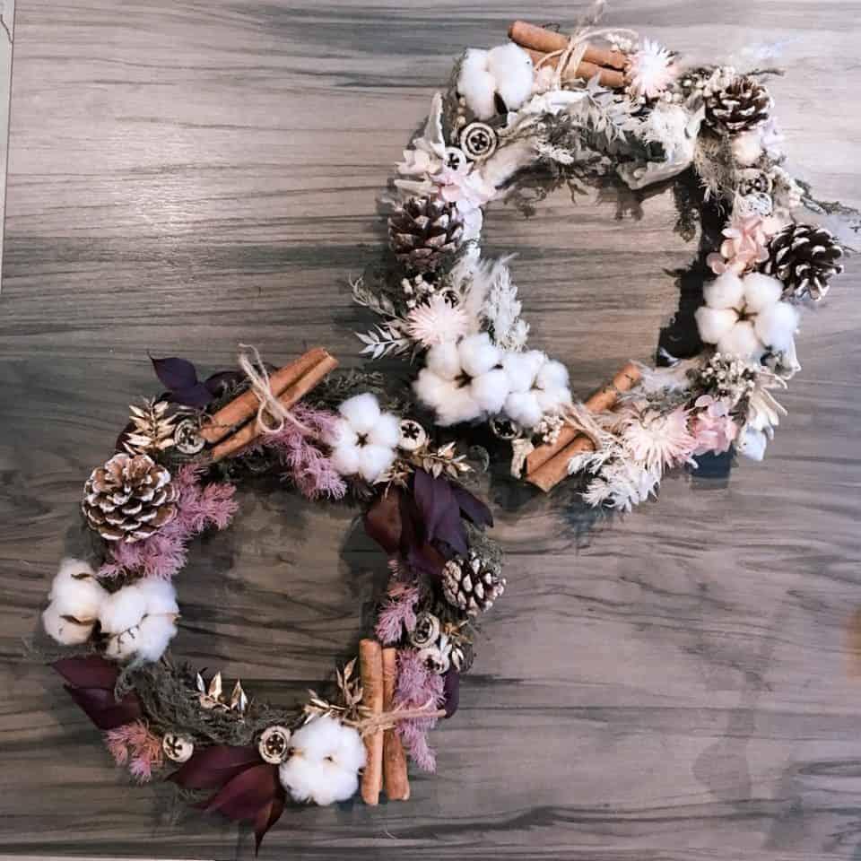 聖誕節系列商品|HUE詼-乾燥花藝設計