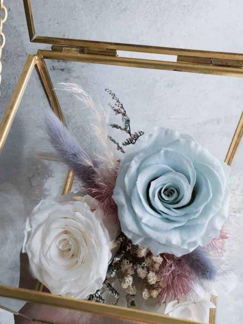 12星座系列【射手座玻璃花盒】-乾燥花/專屬生日禮物