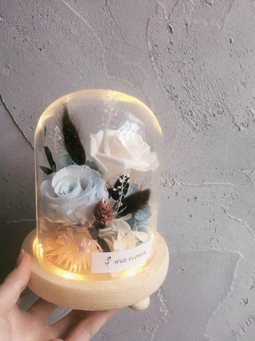 12星座系列【水瓶座玻璃罩】-乾燥花/專屬生日禮物