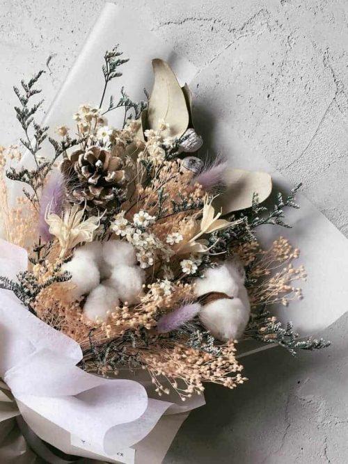 12星座系列【雙魚座乾燥花束】-乾燥花/專屬生日禮物