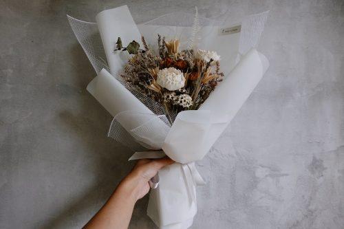 12星座系列【巨蟹座星座花束】-乾燥花/專屬生日禮物