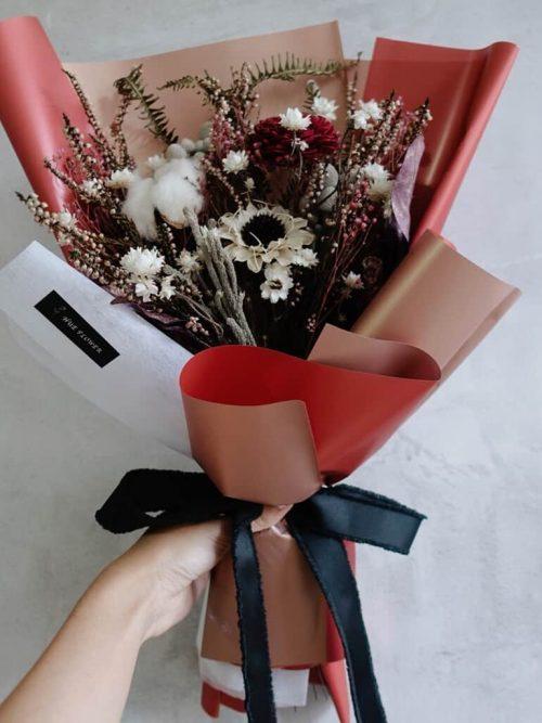 12星座系列【牡羊座星座花束】-乾燥花/專屬生日禮物