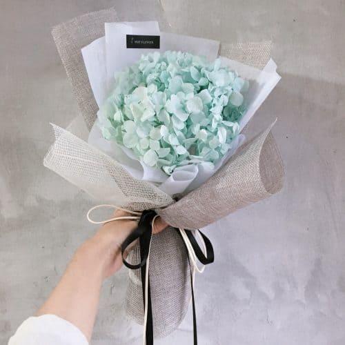 中型繡球花束【希望】- 中型花束 / 乾燥花