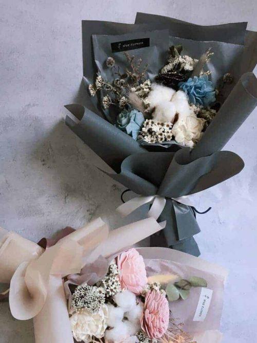 中型花束【美好時光2.0】- 中型花束 / 乾燥花