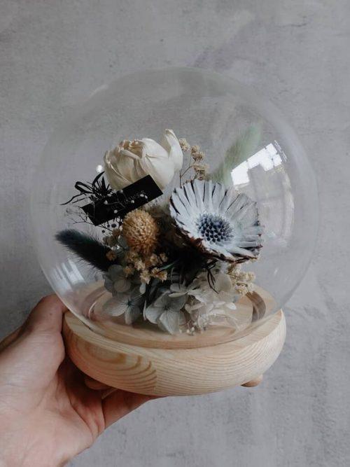 12星座系列【金牛座星球花盒】- 乾燥花/專屬生日禮物