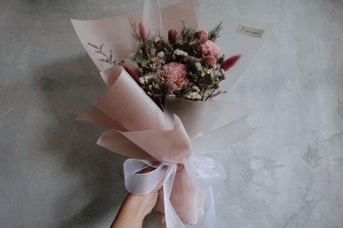 12星座系列【雙子座星座花束】-乾燥花/專屬生日禮物