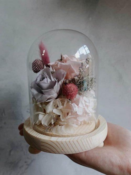 12星座系列【雙子座玻璃罩】- 乾燥花/專屬生日禮物