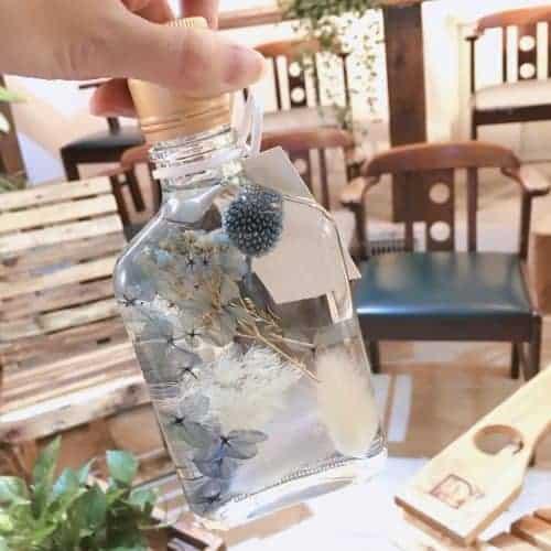 浮游花瓶【深藍】- 浮游花 / 送禮首選