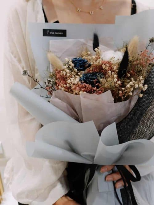 12星座系列【魔羯座乾燥花束】-乾燥花/專屬生日禮物