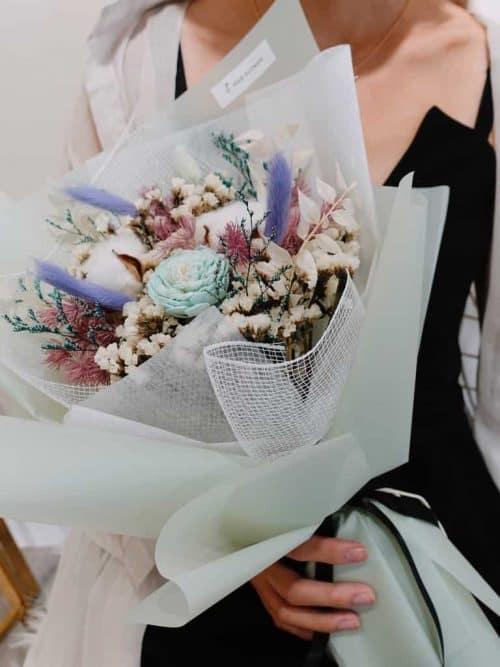 12星座系列【射手座乾燥花束】- 乾燥花/專屬生日禮物