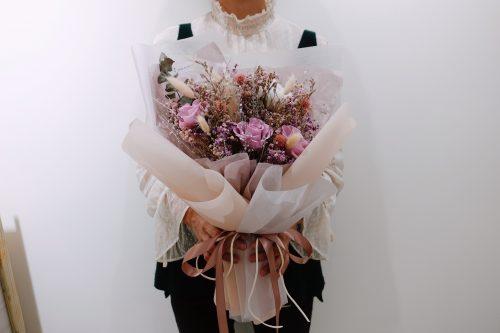 中型永生花束【求婚誓言】- 永生花