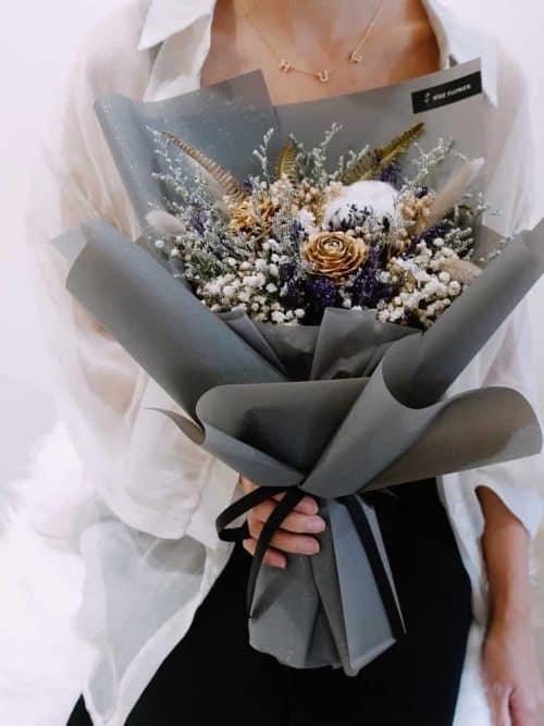 12星座系列【天蠍座乾燥花束】-乾燥花/專屬生日禮物