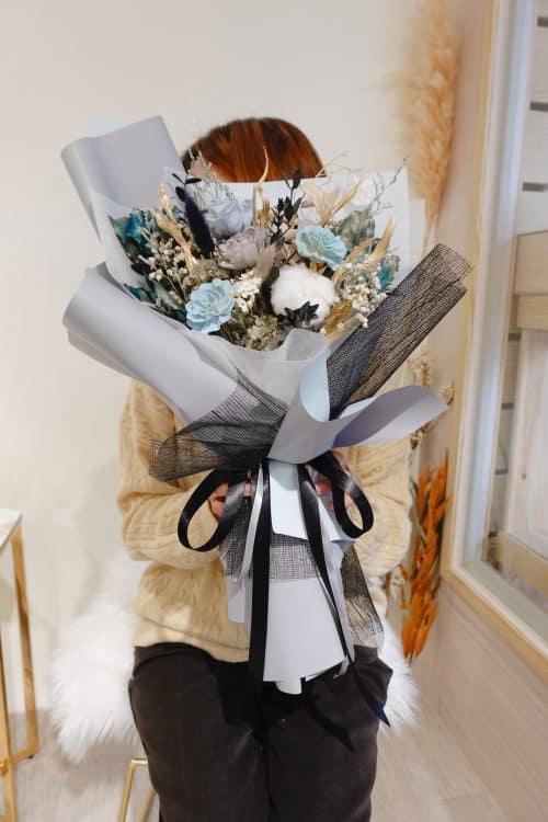 求婚花束【天與海】- 典禮贈花、定情花束