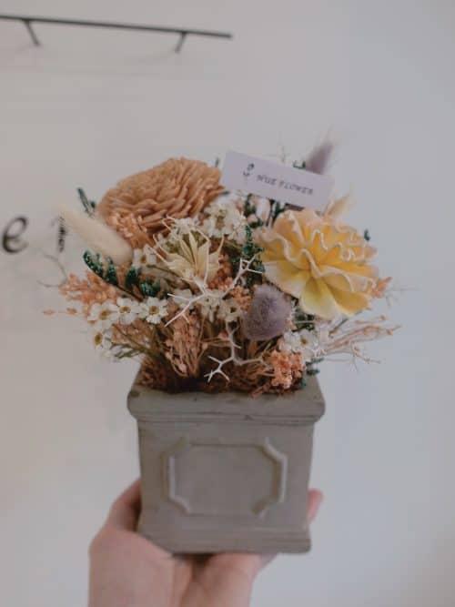 12星座系列【雙魚座桌花】-乾燥花/專屬生日禮物