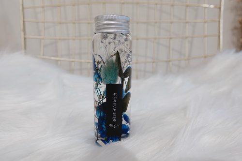 浮游小花瓶【藍色結晶】- 浮游花 / 送禮首選