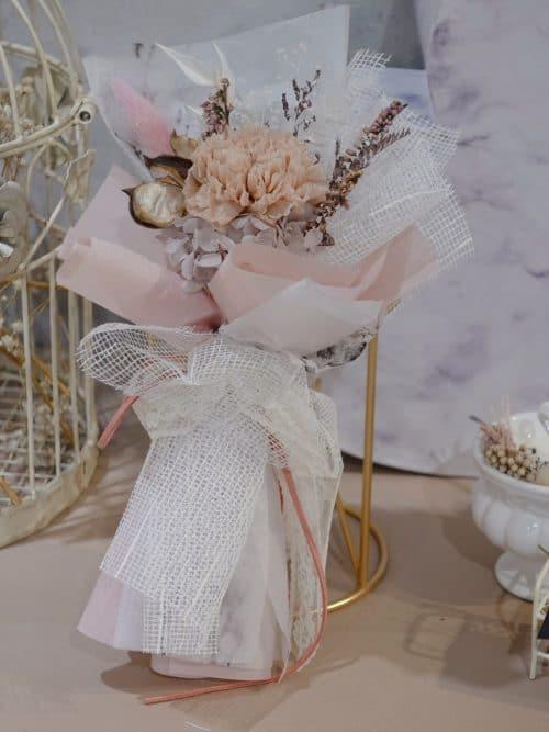 母親節永生花【Cherish (粉)】- 永生花 / 單支花束