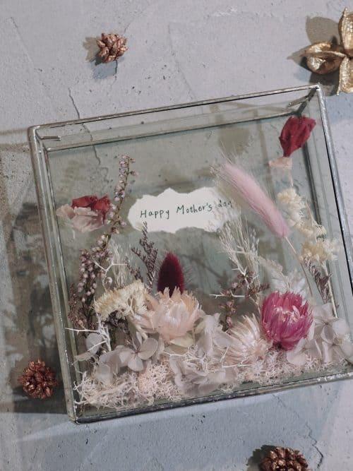 母親節永生花【想念你】- 永生花 / 乾燥花 / 相框