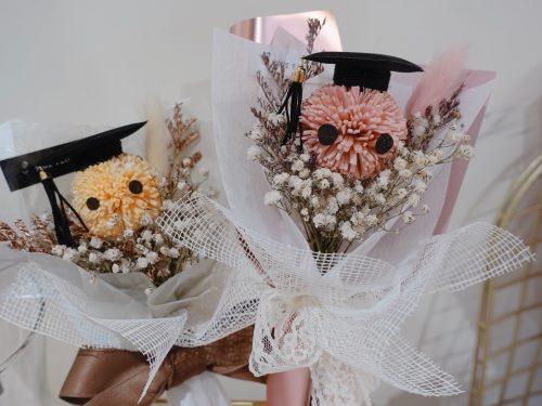 畢業花束【鵬程萬里】- 永生花束 / 乾燥花束